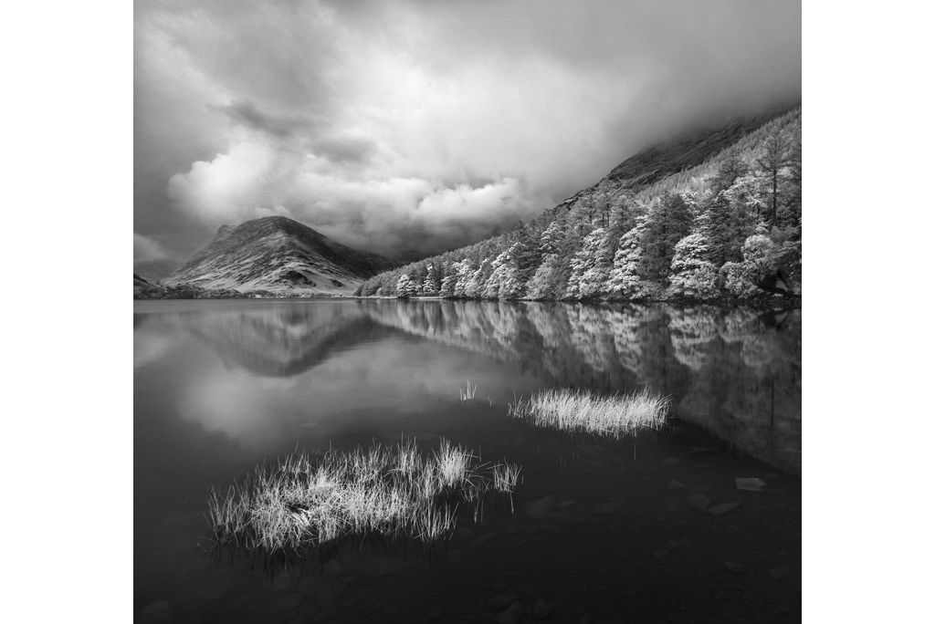 Buttermere Lake, Lake District Infra-red