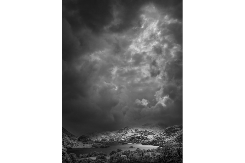 Storm Approaching, Lake District Infra-red